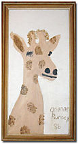 Goanne the Giraffe