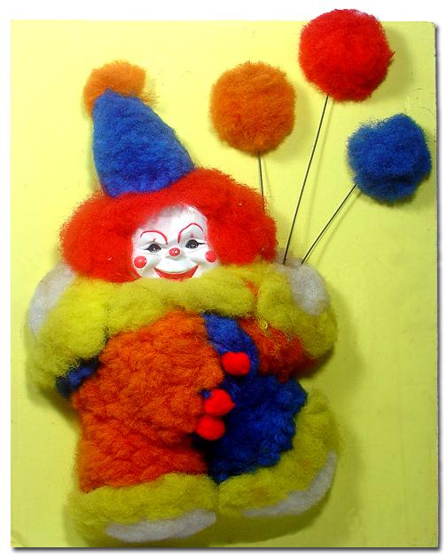 Clown in 3D